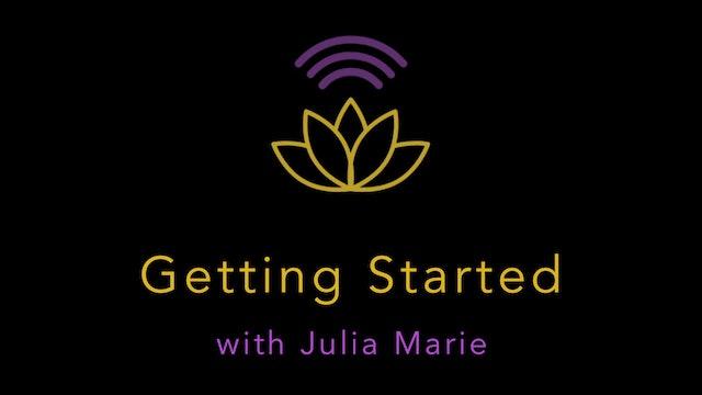 Julia Marie: Getting Started: Power Walk & Jogging Intervals