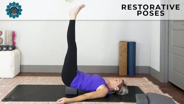 Family Flow : Yoga for Teens - Top 5 Restorative Poses