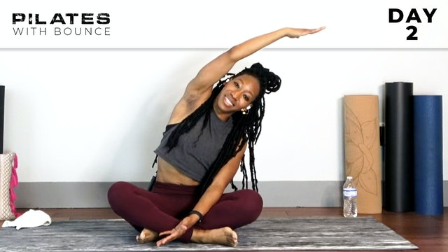 Bounce: Mat Pilates Challenge: Stabilize & Sizzle