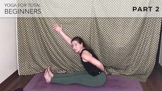 Evelyn at Home : Yoga For Total Beginners - Part 2