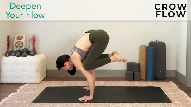 Julia Marie:  Advanced Poses - Crow Flow