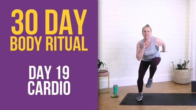 Suzie: 30 Day Body Ritual Challenge - Day 19