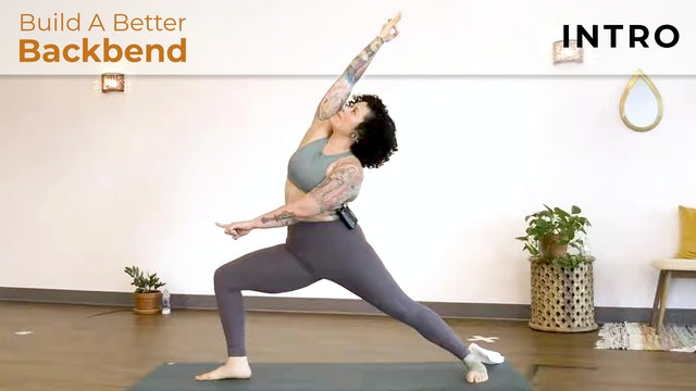 Maria : Build A Better Backbend - Intro to Back Bending