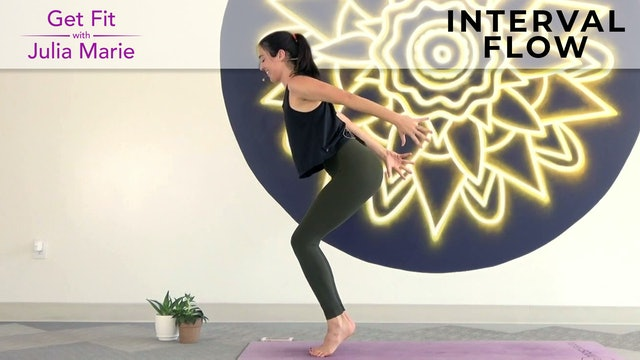 Julia Marie : Get Fit - Interval Flow