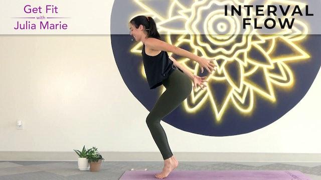 Julia Marie : Get Fit - Interval Flow