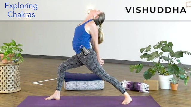 Alex : Chakra Yoga - Throat (Vishuddha)