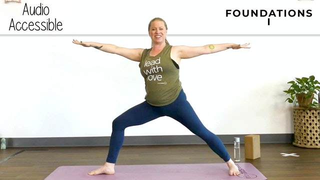Audio Accessible: PowerFix - Foundations I with Suzie