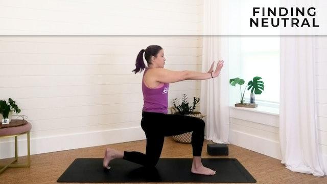 Vanessa - Shoulder Stability Part 1: Finding Neutral