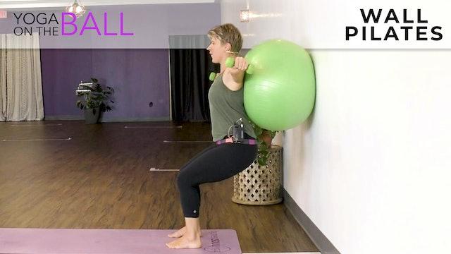Darina : Ball Workout - Wall Pilates