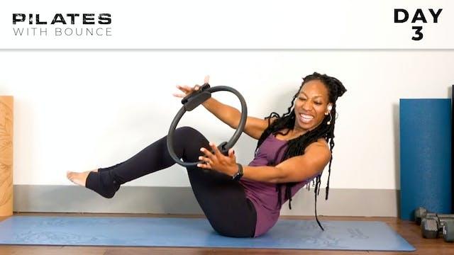Bounce: Mat Pilates - Day 3
