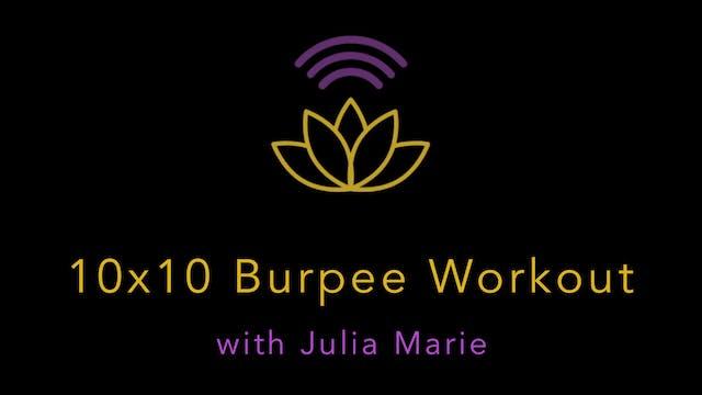 Julia Marie: BONUS Plyo Training - 10...