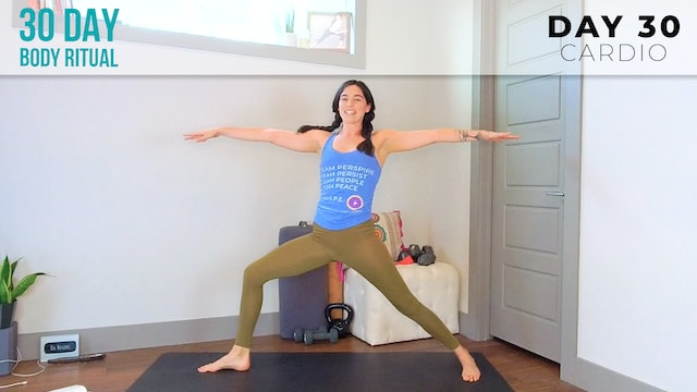 Julia Marie: Celebration Workout with Flow, HIIT & Bodyweight Drills