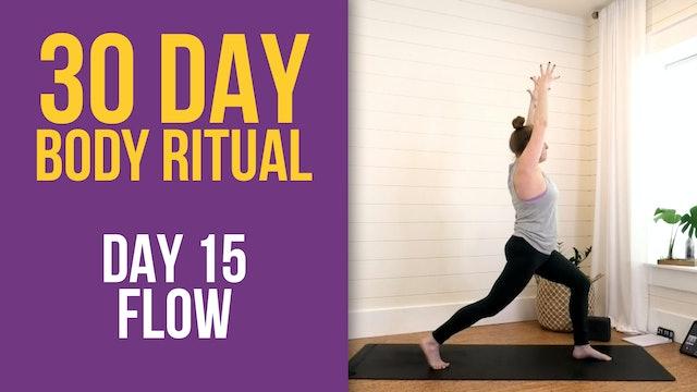 Suzie: 30 Day Body Ritual Challenge - Day 15