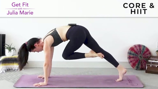 Julia Marie : Flow Intervals -  Core & HIIT