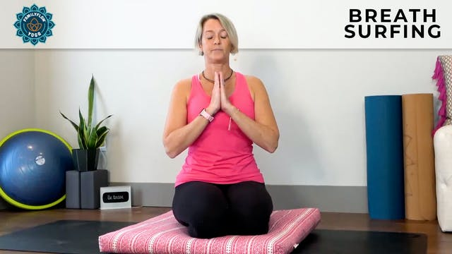 Adrienne: Breath Surfing Meditation