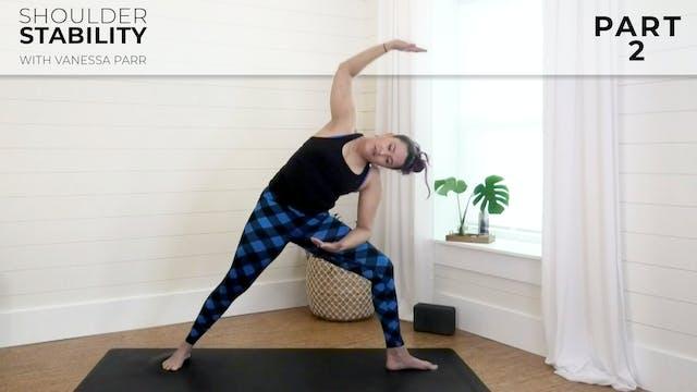 Vanessa - Shoulder Stability Part 2: ...