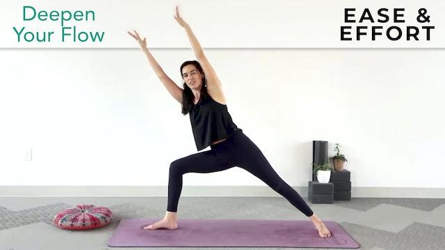 Julia Marie : Deepen Your Flow - Ease & Effort