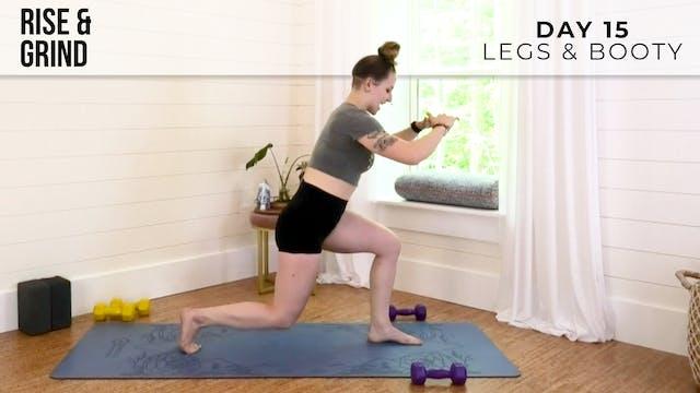 R&G Push: Legs & Booty Burn With Jess