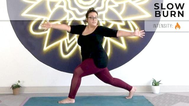 Andrea : Gentle Yoga - Slow Burn