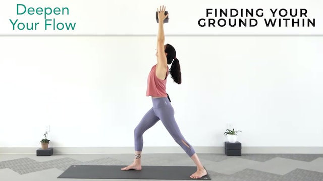 Julia Marie: Intermediate Yoga - Finding Your Ground Within