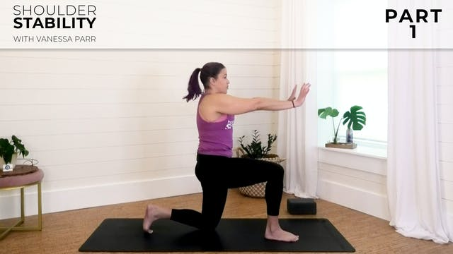 Vanessa - Shoulder Stability Part 1: ...