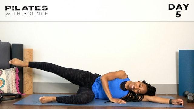 Bounce: Mat Pilates Challenge: Glutes & Deep Hip