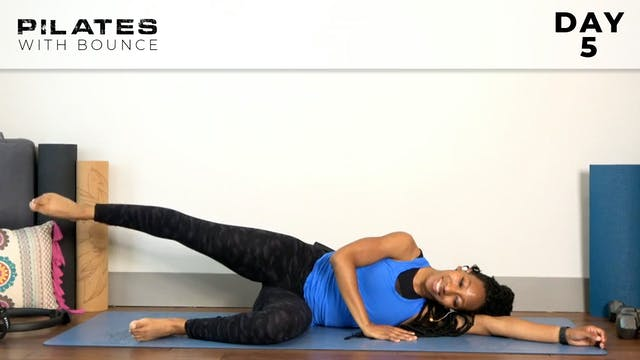 Bounce: Mat Pilates Challenge: Glutes...