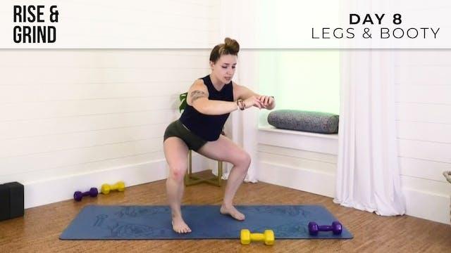 R&G Build: Legs & Booty Burn w/ Jess