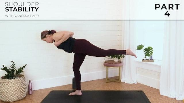 Vanessa: Shoulder Stability Part 4 - Triceps & Upper Back Flow