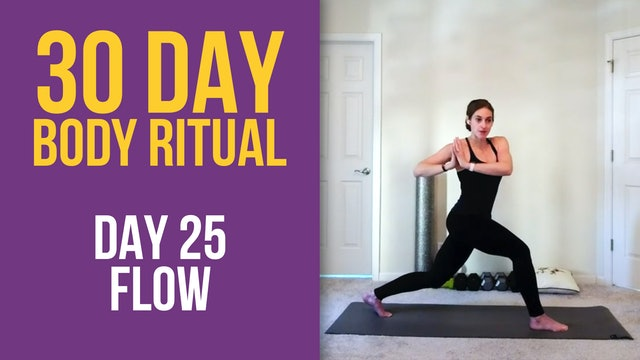 Hannah: 30 Day Body Ritual Challenge - Day 25