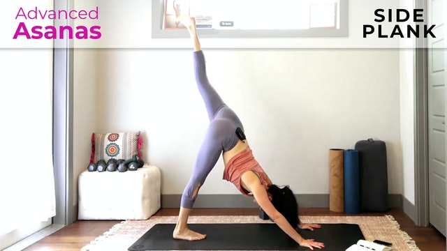 Julia Marie: Advanced Asana - Yoga Flow For Side Plank