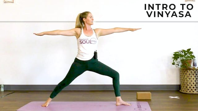 Alex : Get Flowing - Intro to Vinyasa