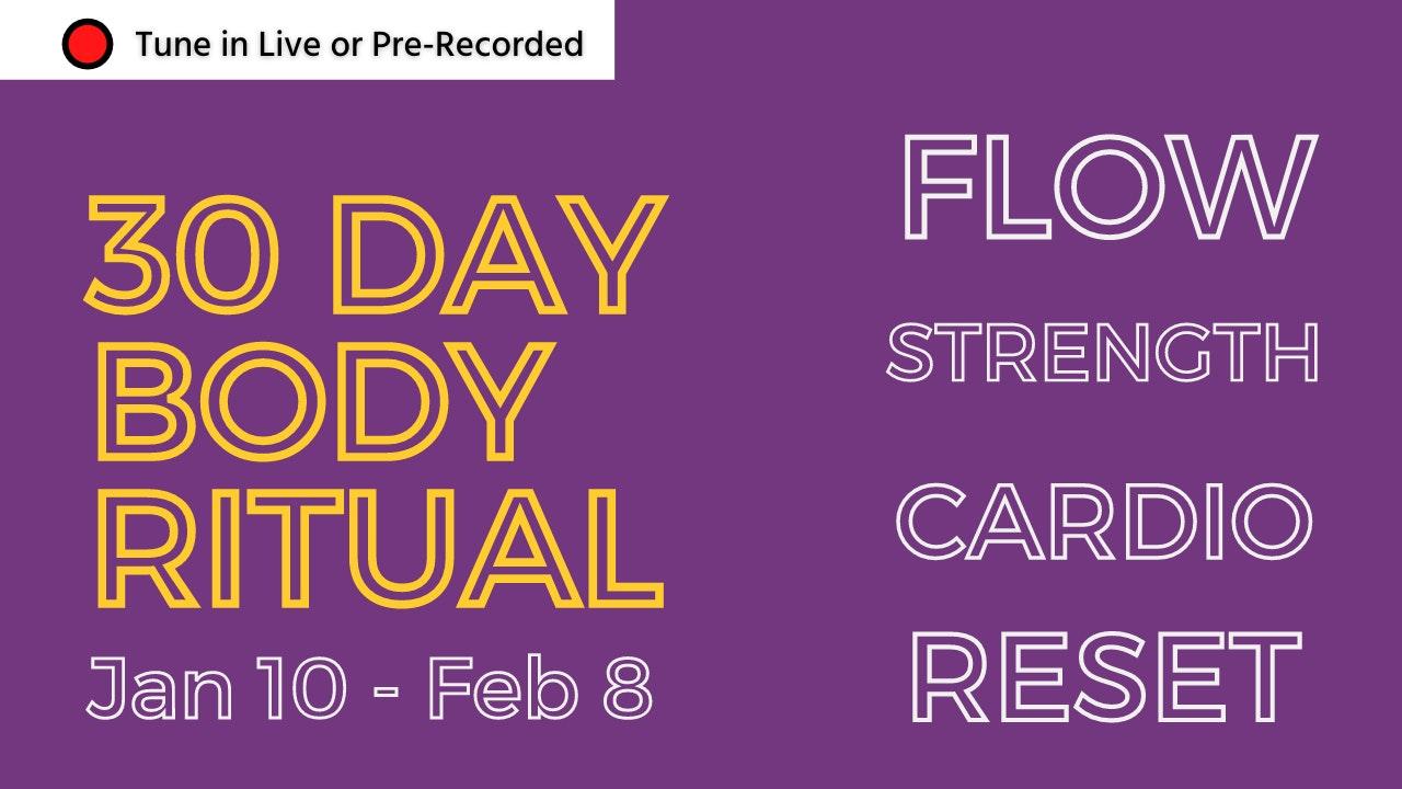Body Ritual 30 Day Challenge