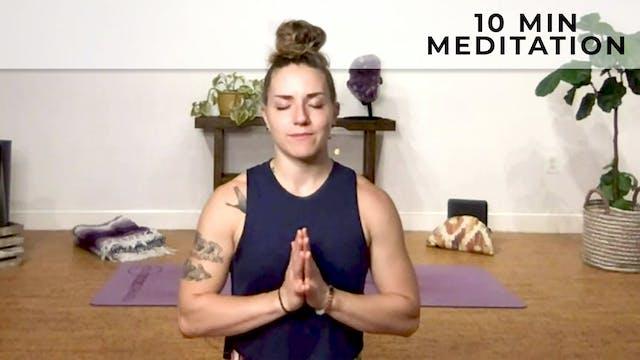 Jessica: 10 Minute Meditation
