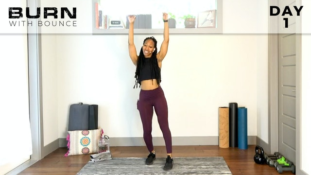 Bounce : Burn With Bounce - Intro to Dance Fitness