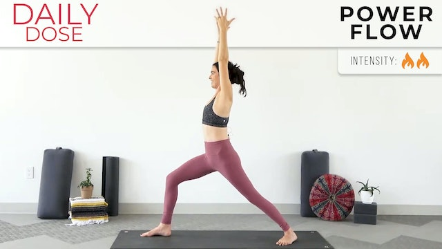 Julia Marie : Daily Dose - Go To Power Flow