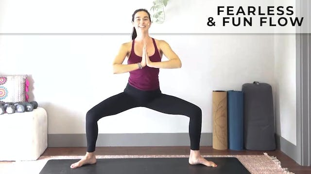 Julia Marie : Yoga Flow - Fearless & ...