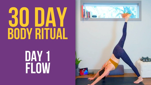Julia Marie: 30 Day Body Ritual Challenge - Day 1