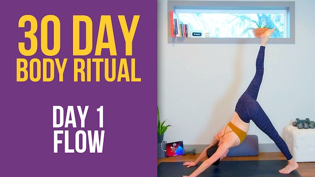 30 Day Body Ritual Challenge: Day 1