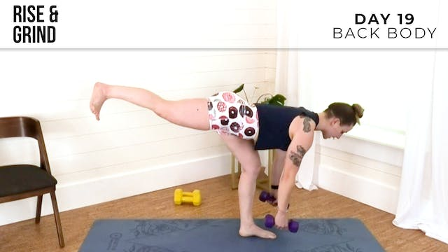 R&G Push: Back Body & Weights With Jess