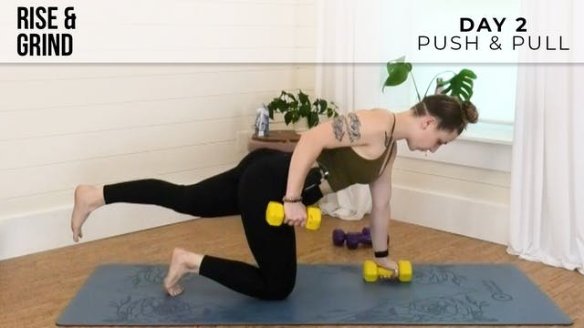 R&G Basic: Push & Pull with Jess