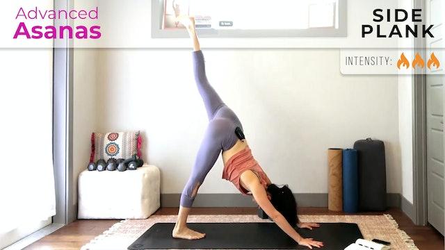 Julia Marie: Advanced Asana - Yoga Flow For Side Plank