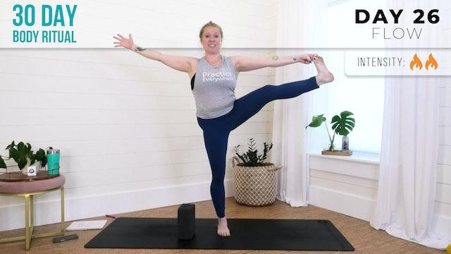 Suzie: 30 Day Body Ritual Challenge - Day 26