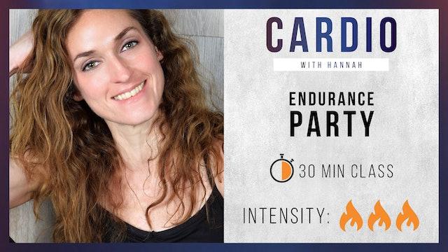Hannah: Endurance Party - Full Body Pyramid Circuit