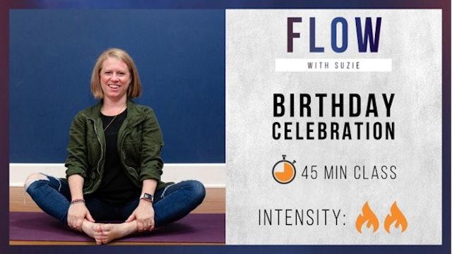 Suzie's Birthday Celebration Flow