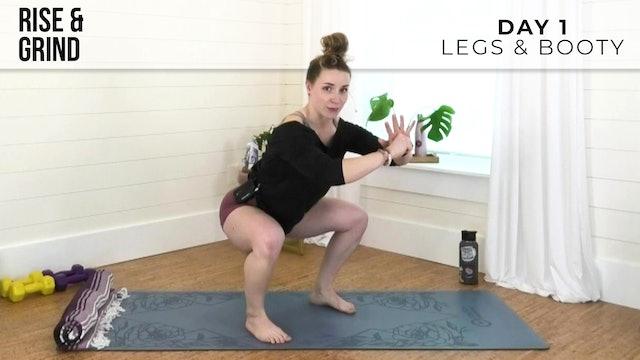 R&G Basic: Legs & Booty Burn with Jess