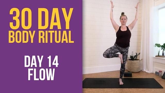 Suzie: 30 Day Body Ritual Challenge -  Day 14