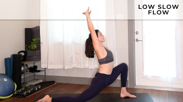 Low Slow Flow for Deep Hips with Julia