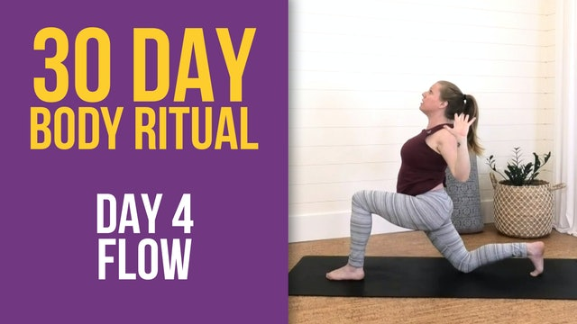 Suzie: 30 Day Body Ritual Challenge -  Day 4