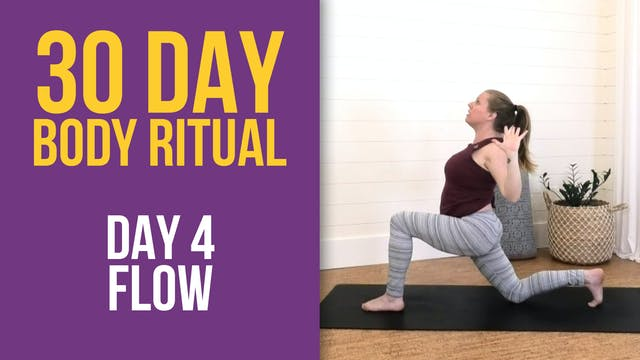 30 Day Body Ritual Challenge: Day 4